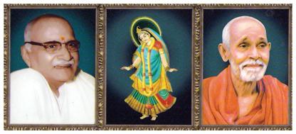 Hanuman Prasad Poddar Ji and Radha Baba